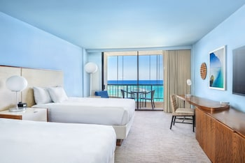 Room, 2 Queen Beds, Ocean View