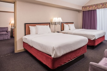 Basic Double Room Single Use, 2 Queen Beds