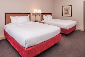 Basic Büyük Yataklı Tek Kişilik Oda, 2 Büyük (queen) Boy Yatak