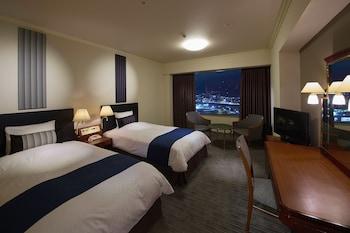24階(小倉織フロア)ツインルーム, 30㎡ 【喫煙】|30㎡|リーガロイヤルホテル 小倉