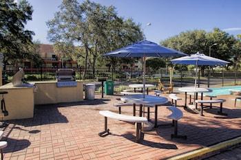 BBQ/Picnic Area at Westgate Blue Tree Resort in Lake Buena Vista in Orlando