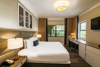 Luxury Double Room, 1 King Bed, Pool View