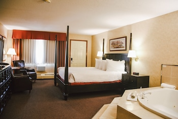 Executive Room, 1 King Bed, Smoking, Jetted Tub