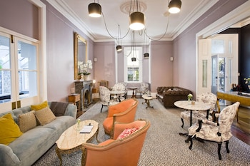 Lobby Lounge at The Hughenden Boutique Hotel in Woollahra