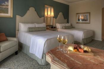 Guestroom at Universal's Loews Portofino Bay Hotel in Orlando