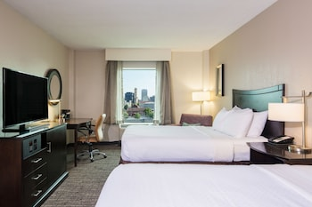 Room, 2 Double Beds, Non Smoking (Skyline View)