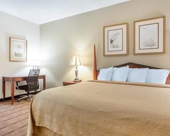 Guestroom at Comfort Inn & Suites Patriots Point in Mount Pleasant
