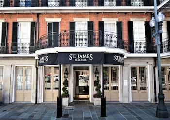 新奧爾良市中心聖詹姆斯飯店 - 法國區 St. James Hotel New Orleans Downtown (French Quarter Area)