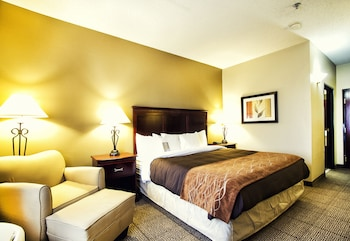 Guestroom at Comfort Inn & Suites Love Field - Dallas Market Center in Dallas
