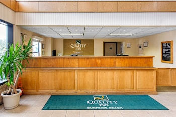 Lobby at Quality Inn in Surfside Beach
