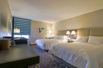 Guestroom at Hampton Inn Tropicana in Las Vegas