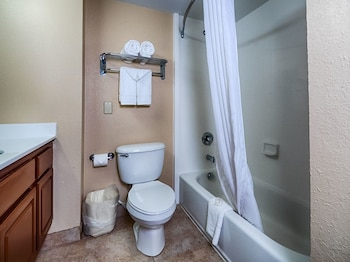 Bathroom at Mainstay Suites in Mount Pleasant