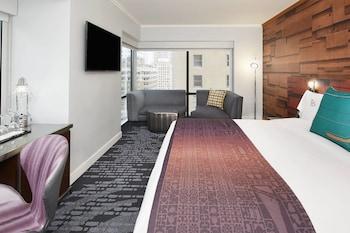 Cool Corner Room, Room, 1 King Bed, Corner