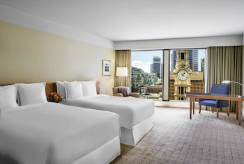Executive Deluxe Twin Room, High Floor, Executive Lounge Access