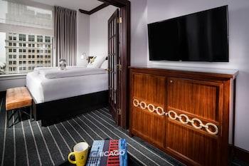 Suite, 1 King Bed, Park View (Millennium)