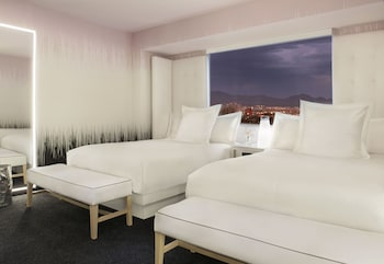 Guestroom at SLS Las Vegas in Las Vegas