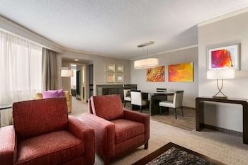 Presidential Suite, 2 Bedrooms, Accessible, Non Smoking (Roll-in Shower)
