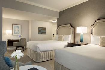 Deluxe Double Room, 2 Double Beds (Newly Renovated)