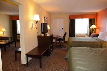 Guestroom at Quality Inn & Suites North Richland Hills in North Richland Hills