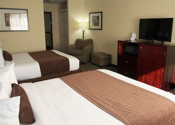 Business Room, 1 King Bed, Non Smoking, Refrigerator & Microwave