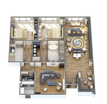 Metropolitan Two Bedroom Suite