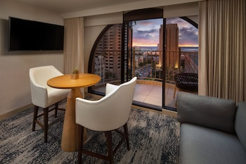Junior Suite, 1 King Bed, Balcony, City View