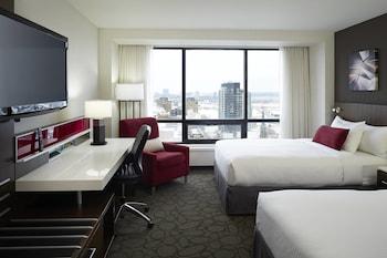 Club Room, 2 Double Beds, Non Smoking (High floor)