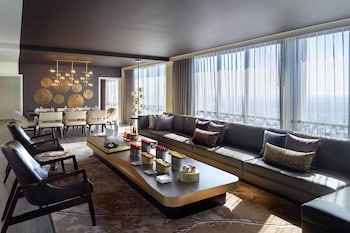 Presidential Suite, 1 Bedroom, Business Lounge Access