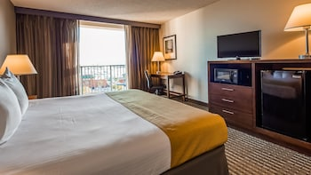 Standard Room, 1 King Bed, Microwave, City View