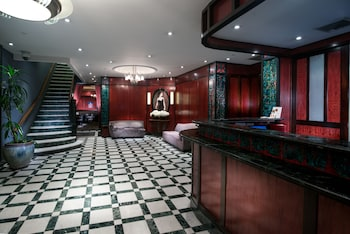 Lobby at Washington Square Hotel in New York