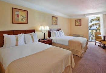 Room, 2 Double Beds, Balcony, Pool View