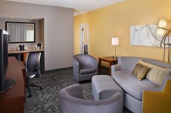 Suite, 1 Bedroom, Courtyard View