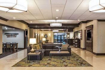 Lobby at Holiday Inn National Airport/Crystal City in Arlington
