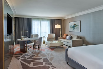 Guestroom at Hotel Crescent Court in Dallas