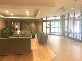 Lobby Sitting Area at Wyndham Garden Philadelphia Airport in Essington