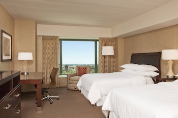 Deluxe Room, 2 Double Beds, Tower