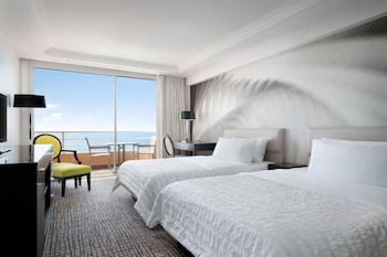 Deluxe Room, 2 Double Beds, Balcony, Sea View