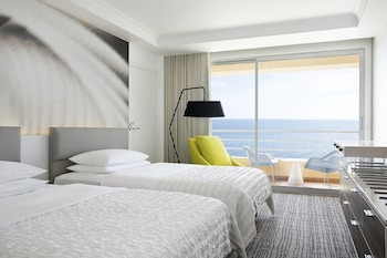 Room, 2 Double Beds, Balcony, Sea View (Roof Top)