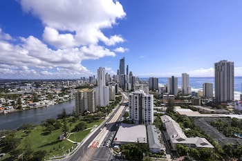 View from Hotel at Crowne Plaza Surfers Paradise in Surfers Paradise