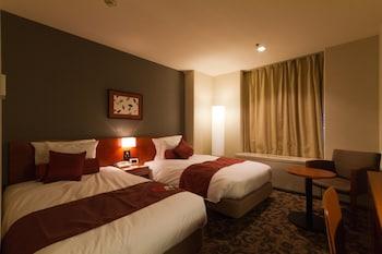 スタンダード ルーム シングルベッド 2 台 禁煙 シティビュー ANAクラウンプラザホテル宇部