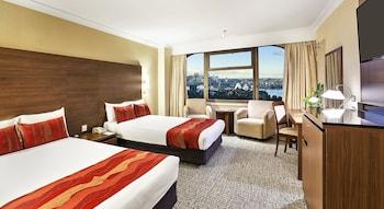 Deluxe Twin Room, 2 Double Beds, Harbor View