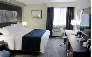 Standard Room, 1 King Bed, Accessible, Refrigerator & Microwave (Refrigerator & Microwave)