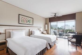 Garden Wing, Deluxe Room, 2 Twin Beds, City View