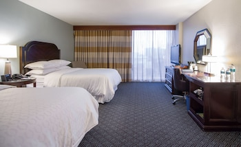 Guestroom at Sheraton Tampa Riverwalk Hotel in Tampa