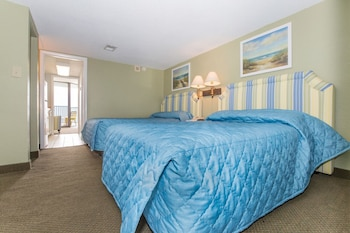 Guestroom at Sand Dunes Resort and Suites in Myrtle Beach