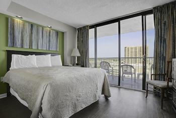 Guestroom at Sands Ocean Club Resort in Myrtle Beach