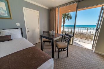 Double Room, 2 Double Beds, Beachside