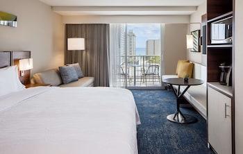 Room, 1 King Bed, Accessible, Bathtub (Partial Ocean View)