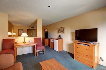 Suite, 1 King Bed, Poolside (Mini Suite)