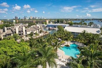 勞德代爾堡碼頭希爾頓飯店 Hilton Fort Lauderdale Marina